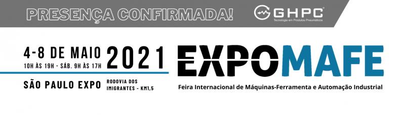 EXPOMAFE 2021 - Venha nos visitar!