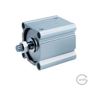 Atuador Pneumático Ultra Compacto, Diâmetro Maior – Série CCMB