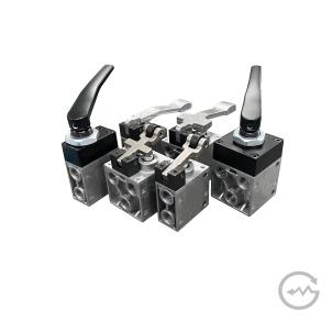 Válvula Poppet, Acionamento manual / mecânico - Série V
