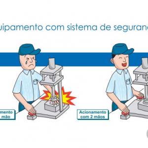 Válvula bi manual pneumática