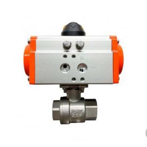Válvula de esfera com atuador