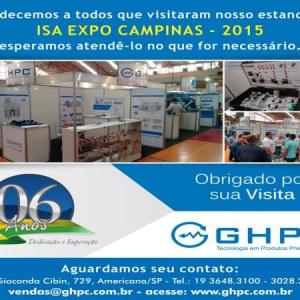 Equipe GHPC Do Brasil Na Feira Isa Expo Campinas 2015.
