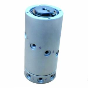 Junta Rotativa com Vedação Metálica, com 1,2,4,8 e 12 saídas Rosca M5 - Série CQR