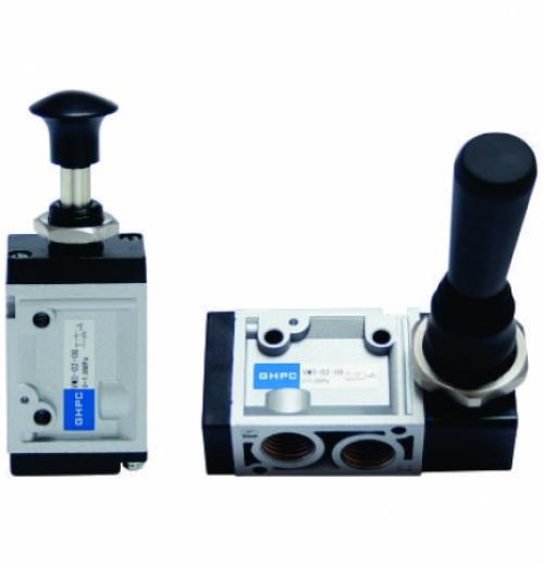 Válvula de Acionamento por Alavanca ou Pressão de Alívio 3 e 5vias - Série VM3 e VM5